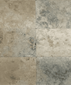 Rustic and antique coloured rectangle 12mm paving