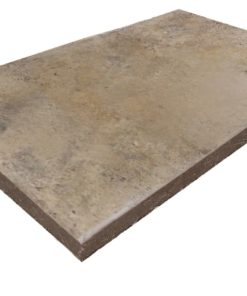 Antique and Rustic toned square edge coping tile