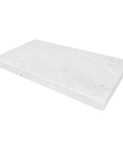 Tumbled White Limestone Pool Coping