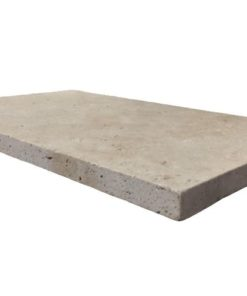 Ivory Tumbled Pool Coping Tile