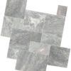 Grey Limestone French Pattern paving