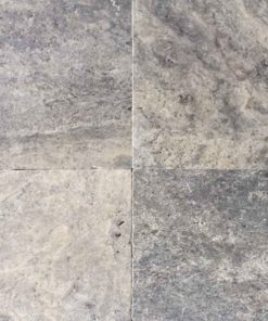 Silver Travertine in a 610mm square