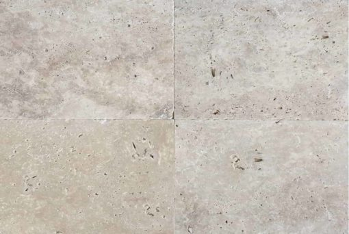 Ivory Rustic Travertine Tiles in a rectangle size