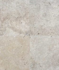 Square travertine paver
