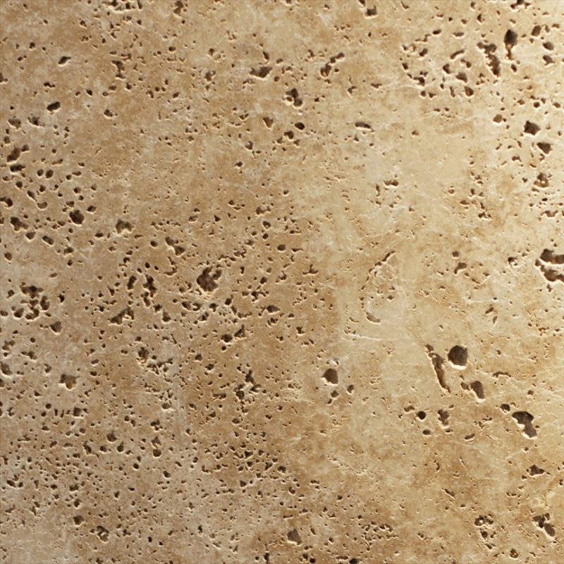 Tumbled and Unfilled travertine surface finishes